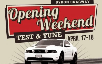 Opening Weekend to be Live Streamed on Byron Dragway TV